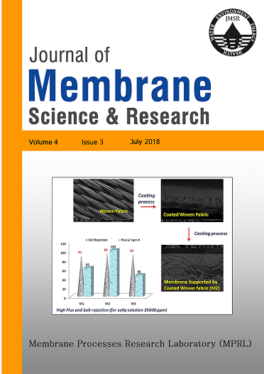 Journal of Membrane Science and Research