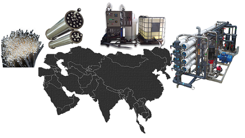 Membrane Science and Research in Asia and the Middle East: State of the Art and Perspectives